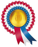 Ribbon rosette Royalty Free Stock Images