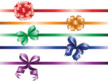 Ribbons clip-art Stock Photo