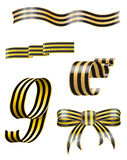 Ribbon of Saint George Stock Photos