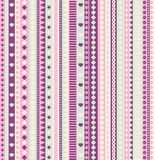 Ribbon seamless pattern. Stock Photos