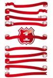 Ribbon Set B Royalty Free Stock Image