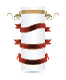 Ribbon set Royalty Free Stock Image