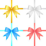 Ribbon set vector Royalty Free Stock Image