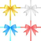 Ribbon set vector Royalty Free Stock Image