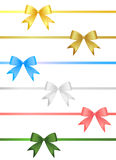 Ribbon set vector Stock Images