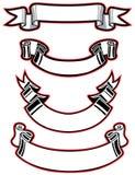Ribbon set stock illustration