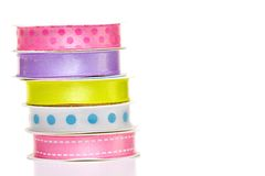 Ribbon spools Stock Image