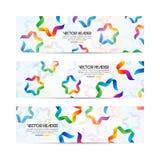 Ribbon stars vector header Royalty Free Stock Photography