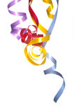 Ribbon Streamers Stock Images