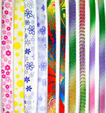 Ribbon stripe design Stock Photo