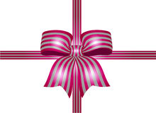 Ribbon with stripes Stock Photos