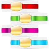 Ribbon Tag Stock Photo