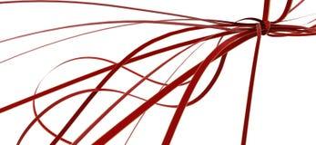 Ribbon Tangle Royalty Free Stock Photos