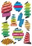 Ribbon Template Stock Image