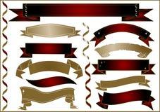 Ribbon Theme Style Stock Photo