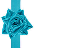 Ribbon tied as a rose Stock Photography