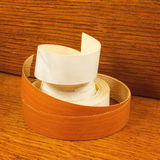 Ribbon trim ends chipboard stock photos