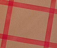 Ribbon Wrapped Parcel Royalty Free Stock Images