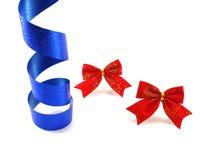 Ribbons. Party decoration items Royalty Free Stock Photos