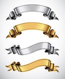 Ribbons royalty free illustration