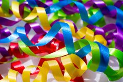 Ribbons Stock Image