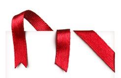 Ribbons Stock Photo