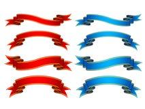 Ribbons vector illustration