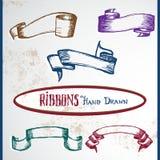 Ribbons-1 royaltyfri illustrationer