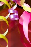 Ribbons of an abstract background. Royalty Free Stock Photos