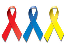 Ribbons AIDS Royalty Free Stock Photography