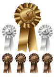 Ribbons for Anniversary Stock Photography