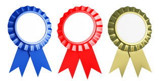 Ribbons Award Stock Photography