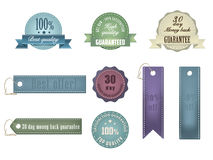 Ribbons and Badges Royalty Free Stock Images