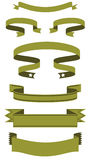 Ribbons banner. Eps 8 vector royalty free illustration