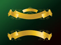 Ribbons and Banners. Modern Illustration for Ribbons and Banners Royalty Free Stock Image