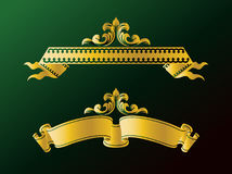 Ribbons and Banners. Modern Illustration for Ribbons and Banners Royalty Free Stock Photography