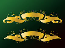 Ribbons and Banners Royalty Free Stock Images