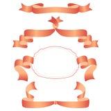 Ribbons Banners Set. Vector Illustration royalty free illustration
