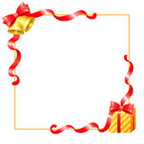 Ribbons border Stock Images
