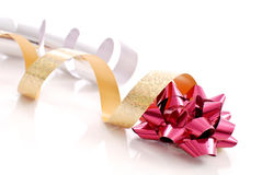 Ribbons and Bow Stock Photography