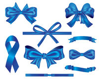 Ribbons and bows Collection Stock Photography
