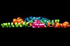 Ribbons Bright Stock Images