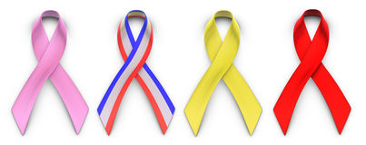 Ribbons for Causes Royalty Free Stock Photo