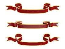 Ribbons of celebration Royalty Free Stock Photo