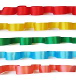 Ribbons for decoration Royalty Free Stock Images