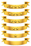 Ribbons of Glory Royalty Free Stock Images