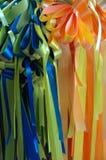 Ribbons III. Ribbons royalty free stock image