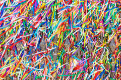 Ribbons of the Lord of Bonfim, Salvador, Bahia - Brazil Royalty Free Stock Images