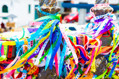 Ribbons of the Lord of Bonfim, Salvador, Bahia - Brazil.  Royalty Free Stock Photography