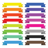 Ribbons Pack Royalty Free Stock Photo